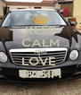KEEP CALM AND LOVE  QASIM - Personalised Poster A4 size