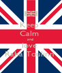Keep  Calm  and  love  Raha Toulinn  - Personalised Poster A4 size