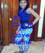 KEEP CALM AND Love  Raine - Personalised Poster A4 size