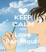 KEEP CALM AND Love Ran Mouri - Personalised Poster A4 size