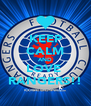 KEEP CALM AND LOVE  RANGERS!! - Personalised Poster A4 size