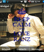 KEEP CALM AND LOVE RANZ - Personalised Poster A4 size
