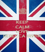 KEEP CALM AND LOVE REBECCA IRWIN - Personalised Poster A4 size
