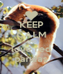 KEEP CALM AND love red pandas - Personalised Poster A4 size