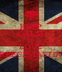 KEEP CALM AND LOVE REECEMASTIN - Personalised Poster A4 size