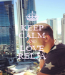 KEEP CALM AND LOVE RELJA - Personalised Poster A4 size
