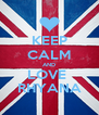 KEEP CALM AND LOVE  RHYANA - Personalised Poster A4 size