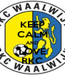 KEEP CALM AND LOVE RKC - Personalised Poster A4 size