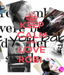 KEEP CALM AND LOVE ROBI  - Personalised Poster A4 size