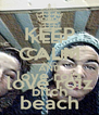 KEEP CALM AND love roiz bitch - Personalised Poster A4 size
