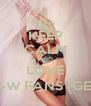 KEEP CALM AND LOVE ROSIE H-W FANS (GEORGIA) - Personalised Poster A4 size