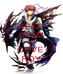 KEEP CALM AND LOVE ROY - Personalised Poster A4 size