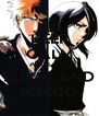 KEEP CALM AND LOVE RUKIA AND ICHIGO - Personalised Poster A4 size