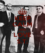 KEEP CALM AND LOVE S.T. - Personalised Poster A4 size