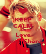 KEEP CALM AND Love  Sam / Chord  - Personalised Poster A4 size
