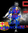 KEEP CALM AND LOVE SANCHEZ - Personalised Poster A4 size