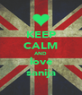 KEEP CALM AND love sanija - Personalised Poster A4 size