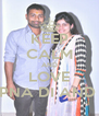 KEEP CALM AND LOVE SAPNA DI AND PK - Personalised Poster A4 size