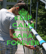 KEEP CALM AND LOVE SARA FOREVER - Personalised Poster A4 size