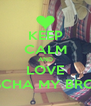 KEEP CALM AND LOVE SASCHA MY BRO <3 - Personalised Poster A4 size