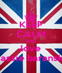 KEEP CALM AND love sassie baranski - Personalised Poster A4 size
