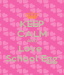 KEEP CALM AND Love  School Egg - Personalised Poster A4 size