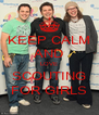 KEEP CALM AND LOVE SCOUTING FOR GIRLS - Personalised Poster A4 size