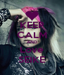 KEEP CALM AND Love SEIKE - Personalised Poster A4 size