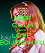 KEEP CALM AND LOVE  SEO JOO HYUN - Personalised Poster A4 size