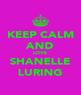 KEEP CALM AND LOVE SHANELLE LURING - Personalised Poster A4 size
