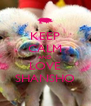 KEEP CALM AND LOVE SHANSHO - Personalised Poster A4 size