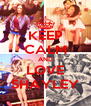 KEEP CALM AND LOVE SHAYLEY - Personalised Poster A4 size