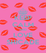 KEEP CALM AND LOVE SHICADE - Personalised Poster A4 size