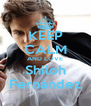 KEEP CALM AND LOVE Shiloh Fernández - Personalised Poster A4 size
