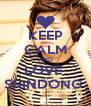KEEP CALM AND LOVE  SHINDONG  - Personalised Poster A4 size