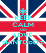 KEEP CALM AND LOVE sHiNTOoD'z - Personalised Poster A4 size