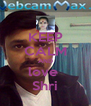 KEEP CALM AND love  Shri - Personalised Poster A4 size