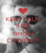 KEEP CALM AND LOVE SIMON COWELL!!! - Personalised Poster A4 size