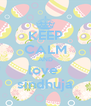KEEP CALM AND love  sindhuja - Personalised Poster A4 size