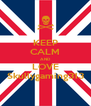 KEEP CALM AND LOVE Skullygaming313 - Personalised Poster A4 size
