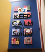 KEEP CALM AND love Smipa  - Personalised Poster A4 size