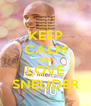 KEEP CALM AND LOVE SNEIJDER - Personalised Poster A4 size
