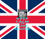 KEEP CALM AND LOVE SOOTIE - Personalised Poster A4 size