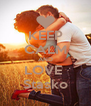 KEEP CALM AND LOVE  Stasko - Personalised Poster A4 size