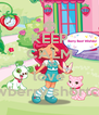 KEEP CALM AND love stawberry shortcake - Personalised Poster A4 size