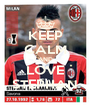KEEP CALM AND LOVE STEPHAN - Personalised Poster A4 size