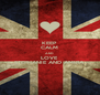 KEEP CALM AND LOVE STEPHANIE AND AMIRA - Personalised Poster A4 size