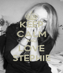 KEEP CALM AND LOVE STEPHIE - Personalised Poster A4 size