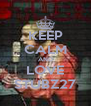 KEEP CALM AND LOVE STUBZ27 - Personalised Poster A4 size