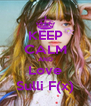 KEEP CALM AND Love Sulli F(x) - Personalised Poster A4 size